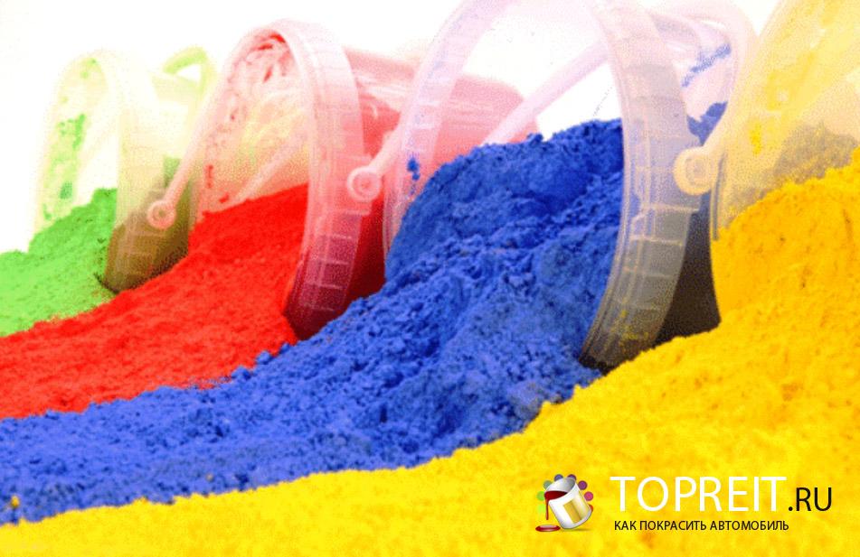 Технология покраски порошковой краской