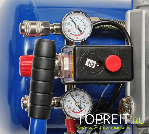 монометр давления на компрессоре
