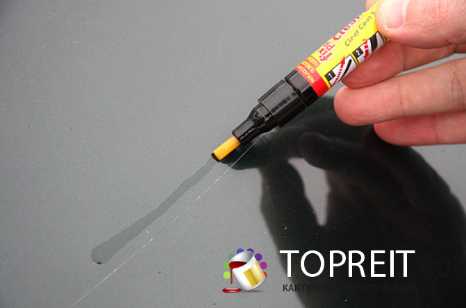 карандаш для удаления царапин