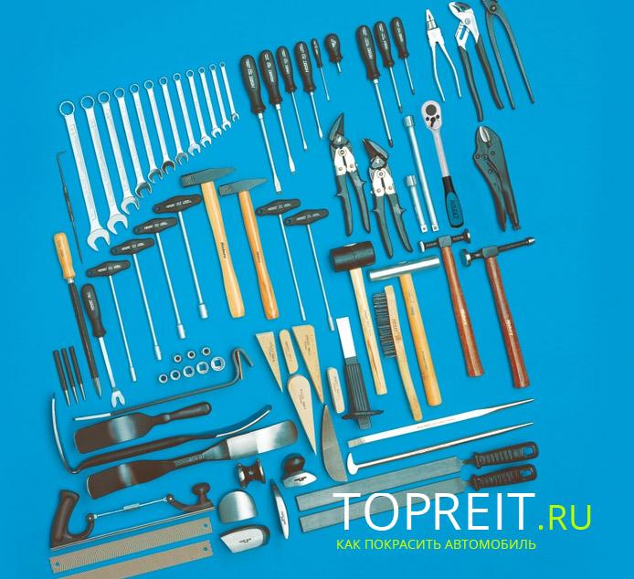 инструмент для рихтовки кузова