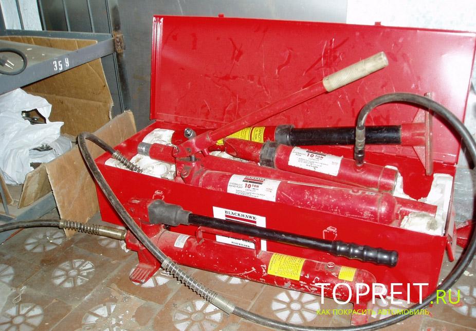 оборудование для ремонта