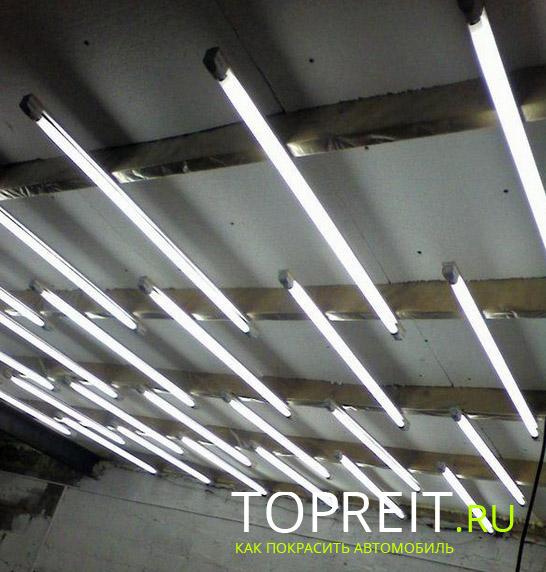 много ламп - много требует энергии