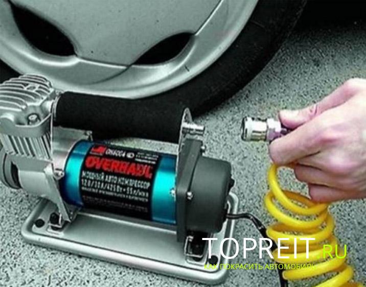 автомобильный насос электрический