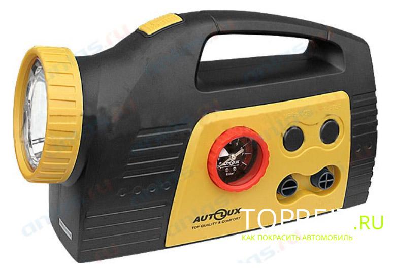 автомобильный компрессор с фонариком